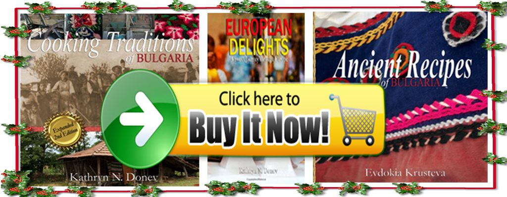 UNIQUE CHRISTMAS GIFT IDEA – Cookbook with Traditional Bulgarian Recipes Now Available in  ...