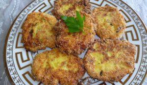 Zucchini Patties or Bulgarian Zucchini Kufteta