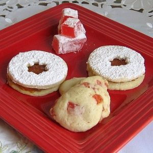 Traditional Bulgarian Holiday Cookie Maslenki or Lokumki Recipe